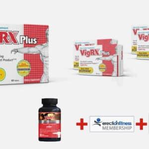 5 doosjes VigRX Plus + No2 support Gratis